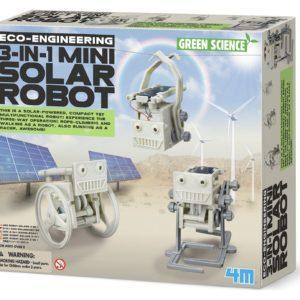3 in 1 mini solar robot