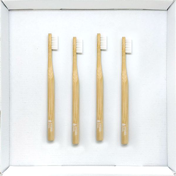 4 Pack Eco Friendly Bamboo Toothbrushes Online