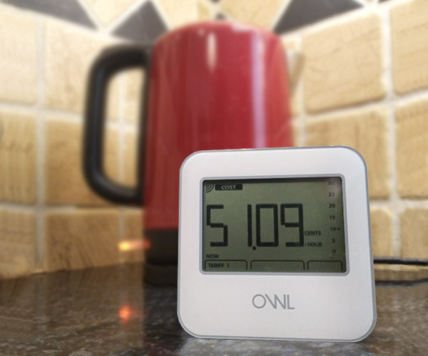 Owl Energy Monitors Micro Home Electricity Saving