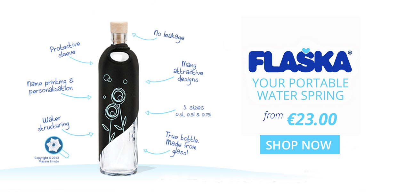 BPA-Free Glass Reusable Water Bottles Online